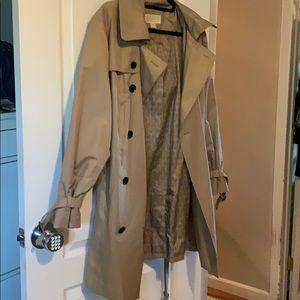 Michael Kors trench coat with hood